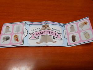 コップのふち ハムスター