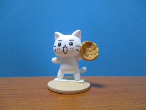 猫ピッチャー マウンド フィギュア ミーちゃん