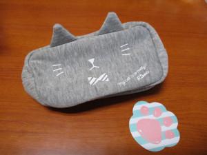 りぼん 12月号 付録 猫耳ポーチ