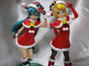 フィギュア 初音ミク 鏡音リン クリスマス