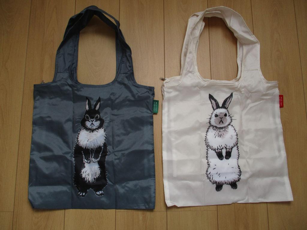 3月のライオン 14巻 特装版 付録 エコバッグ 黒ウサギちゃん 白ウサギちゃん