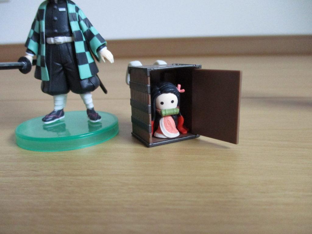 鬼滅の刃 23巻 フィギュア 同梱版 Qposket 炭治郎 背負い箱 チビねずこ